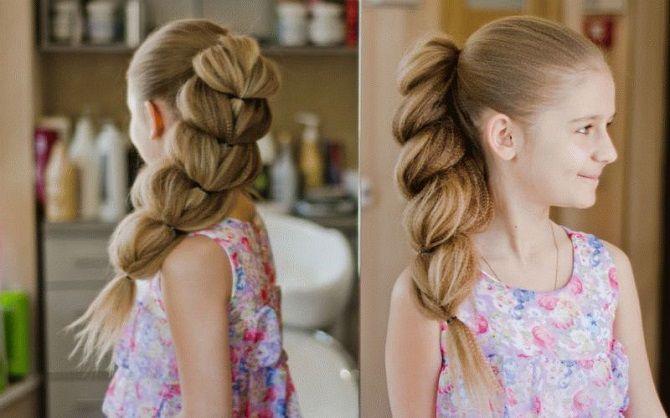 Легкі та чарівні зачіски для дівчаток в школу: лайфхаки, ідеї, поради 17