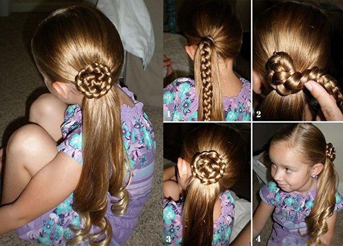 Легкі та чарівні зачіски для дівчаток в школу: лайфхаки, ідеї, поради 19
