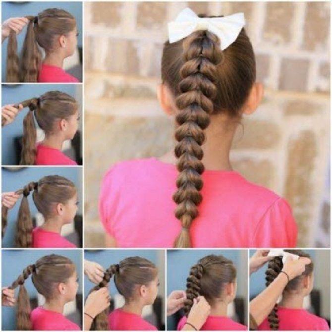 Легкі та чарівні зачіски для дівчаток в школу: лайфхаки, ідеї, поради 20
