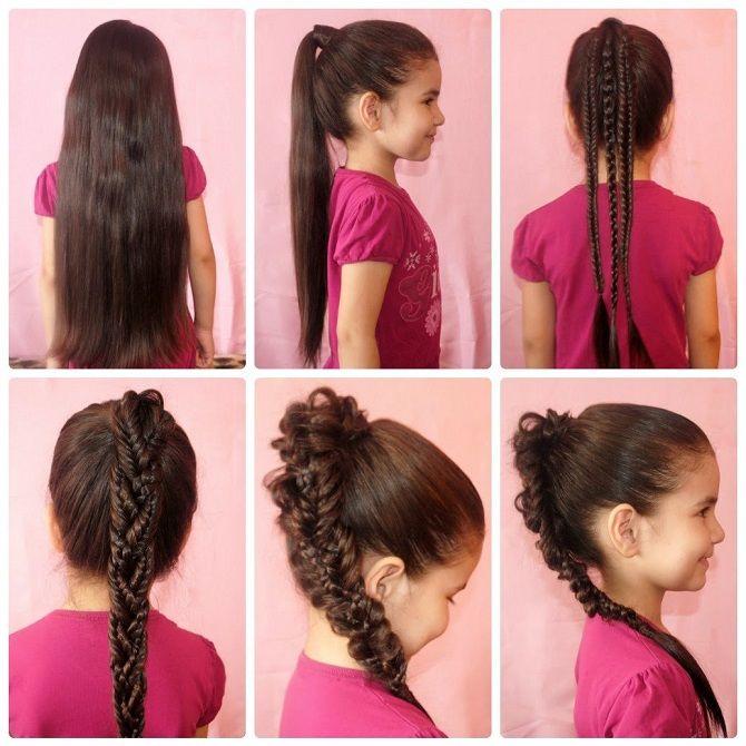 Легкие и очаровательные прически для девочек в школу: лайфхаки, идеи, советы 21