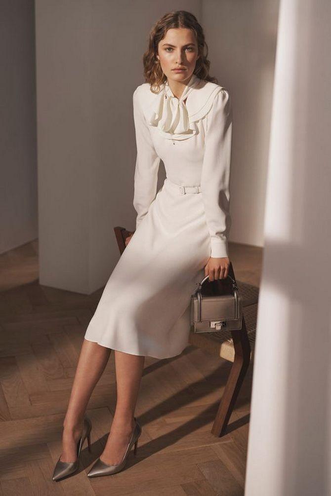Офісні сукні 2020-2021: ділова елегантність 16