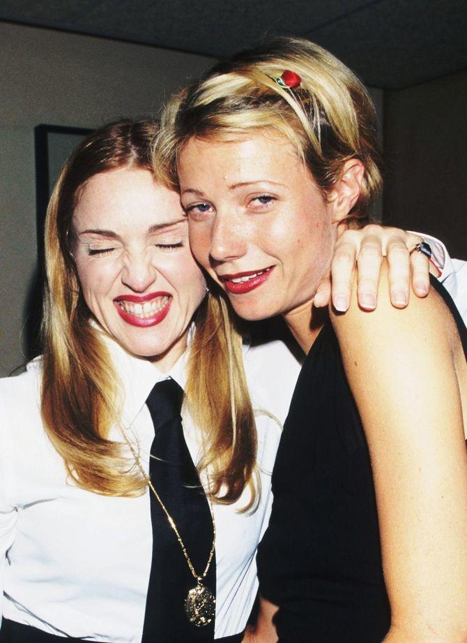 Мадонна и Гвинет Пэлтроу