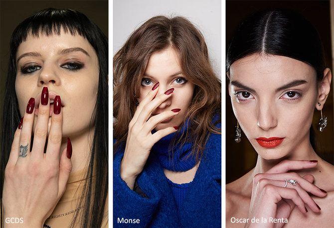 Модний осінній манікюр 2020-2021: манікюр на осінь 12