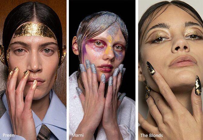 Модний осінній манікюр 2020-2021: манікюр на осінь 19