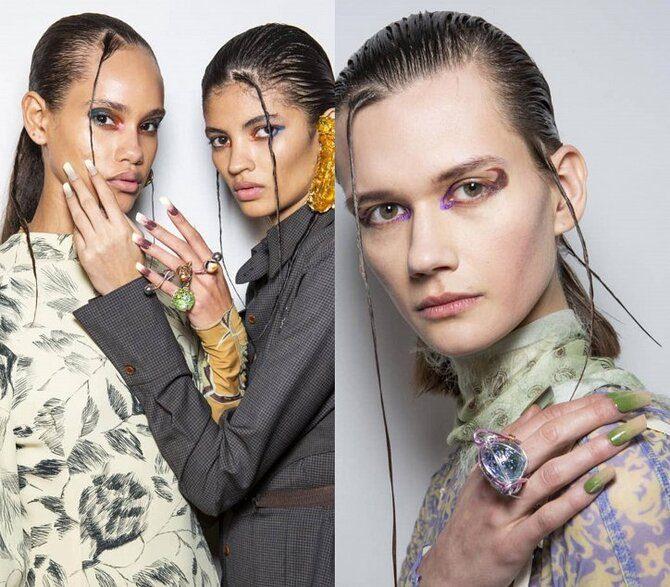Модний осінній манікюр 2020-2021: манікюр на осінь 22