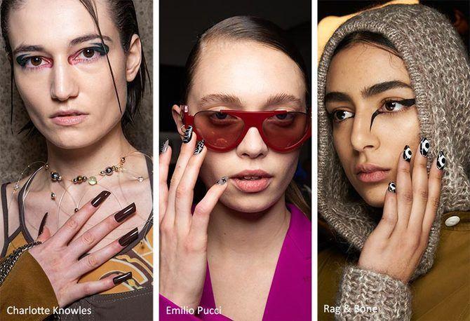 Модний осінній манікюр 2020-2021: манікюр на осінь 9