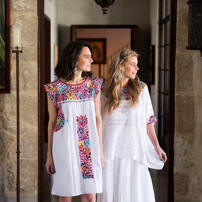 Платья с вышивкой — лучшие модели сезона 2021-2022 51