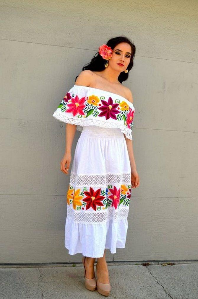Платья с вышивкой — лучшие модели сезона 2021-2022 52