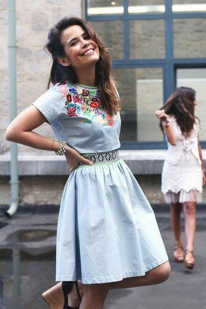 Платья с вышивкой — лучшие модели сезона 2021-2022 53