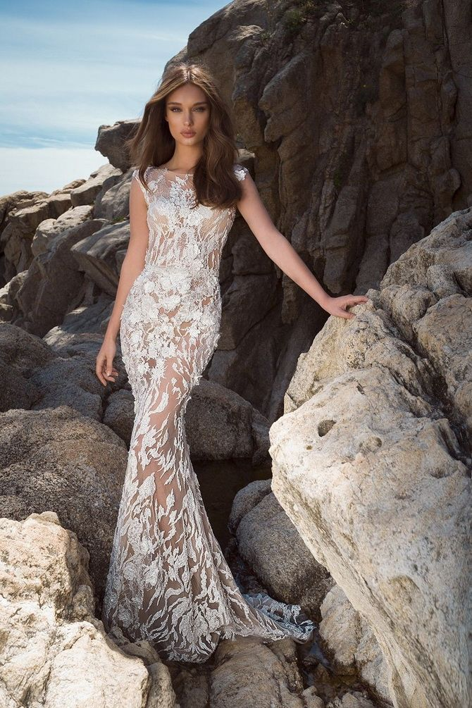 Кольори весільних суконь 2021: основні тренди 44