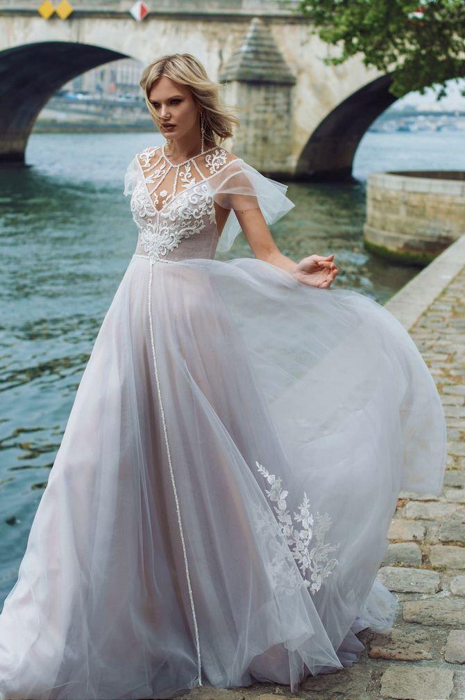 Цвета свадебных платьев 2021: основные тренды 50