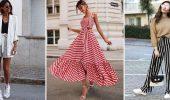 Модная одежда в полоску: тренды 2021-2022 года