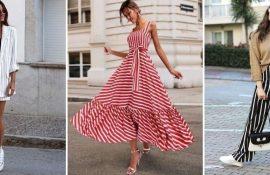 Модний одяг у смужку: тренди 2020-2021