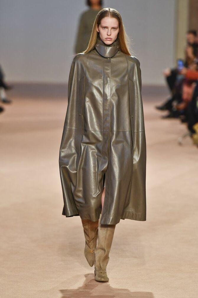 Шкіряні пальта 2020-2021: модні осінні аутфіти 11