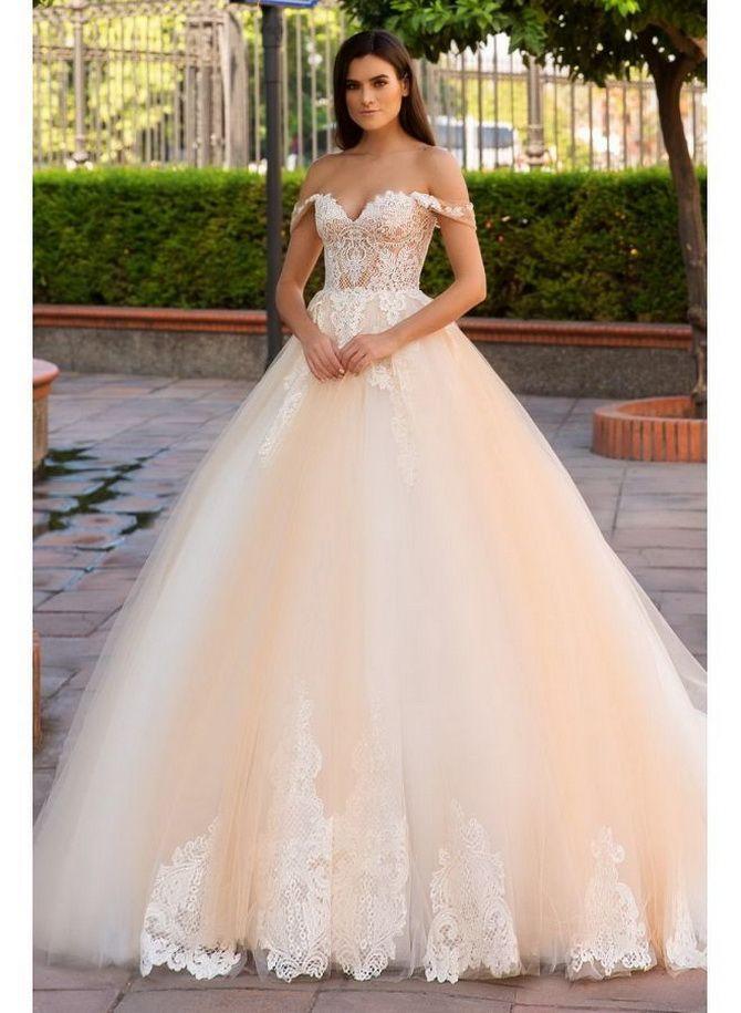 Цвета свадебных платьев 2021: основные тренды 42