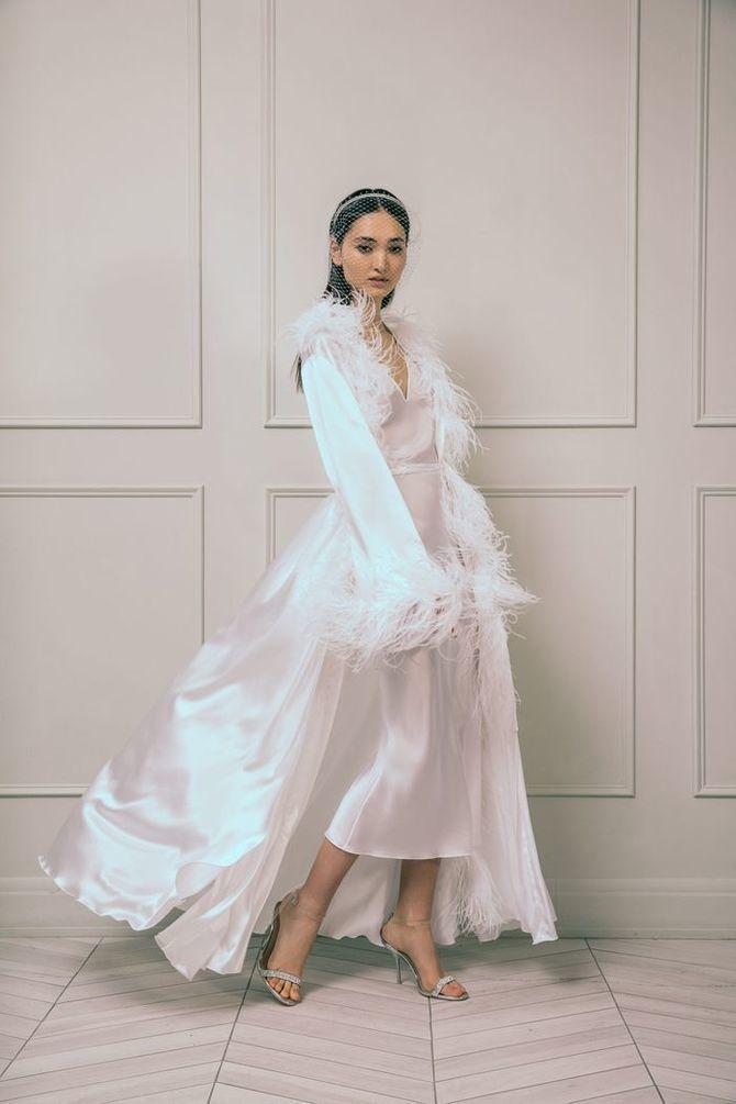 Модні весільні сукні з рукавами 2021-2022 11