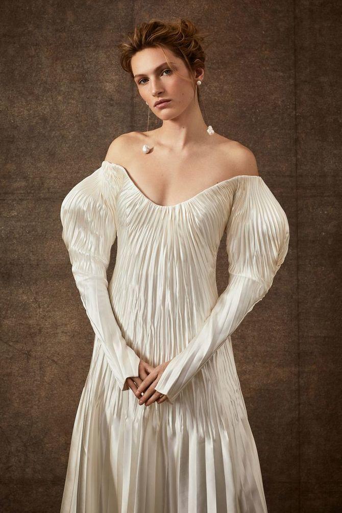 Модні весільні сукні з рукавами 2021-2022 12