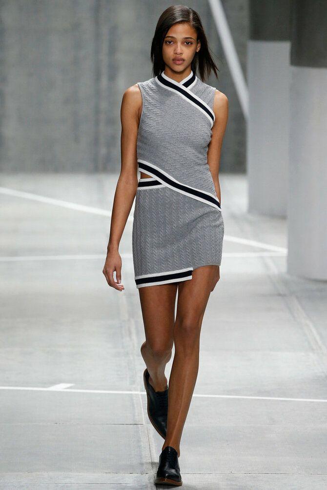 Модные спортивные платья 2021-2022 13
