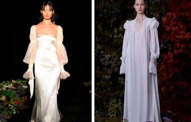 Модні весільні сукні з рукавами 2021-2022 13