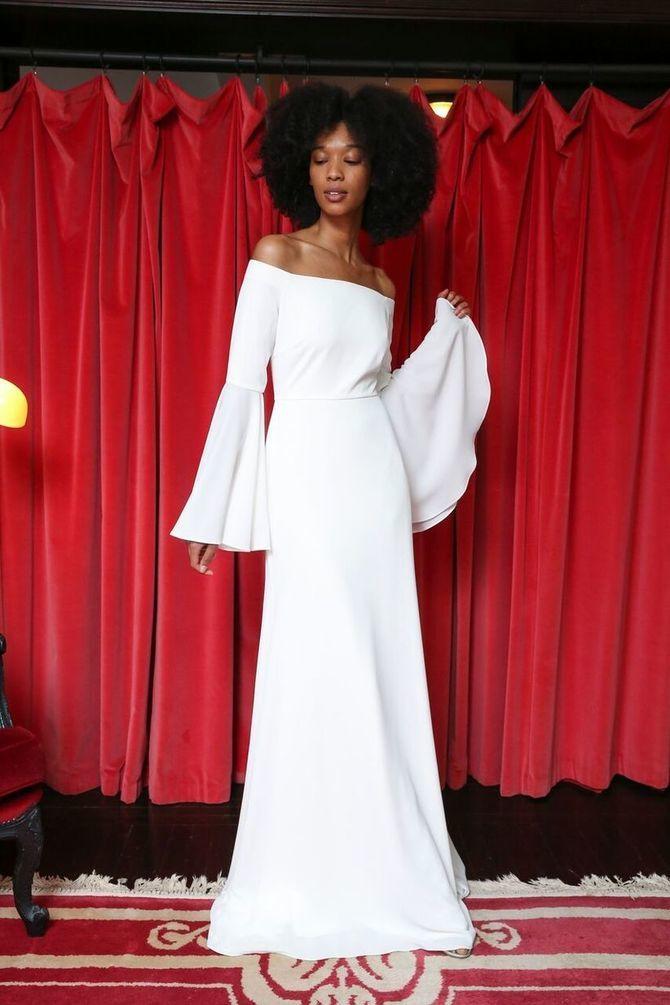 Модні весільні сукні з рукавами 2021-2022 17