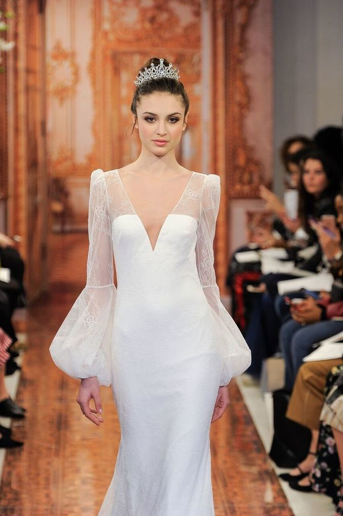 Модні весільні сукні з рукавами 2021-2022 19