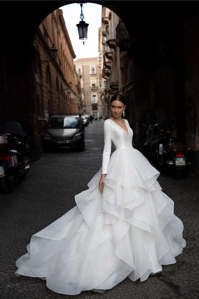 Модні весільні сукні з рукавами 2021-2022 2