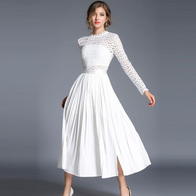 Короткие свадебные платья 2021-2022 19