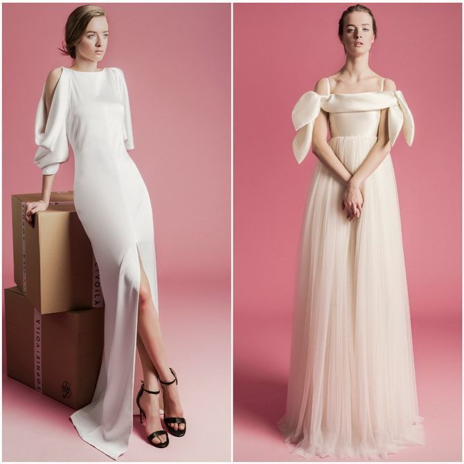 Модні весільні сукні з рукавами 2021-2022 21