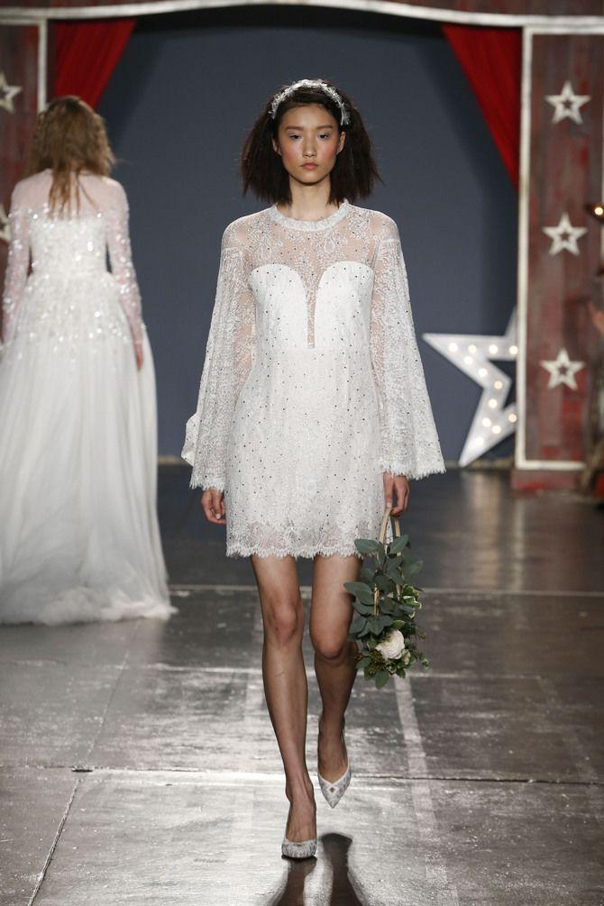 Короткие свадебные платья 2021-2022 20