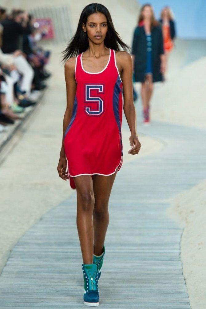 Модные спортивные платья 2020-2021 22