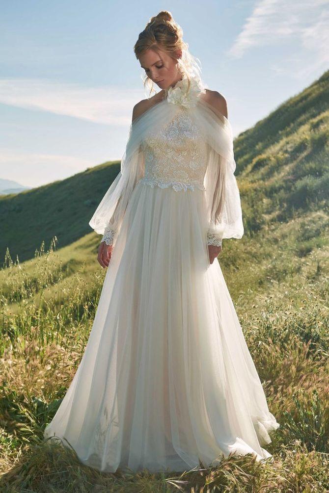 Модні весільні сукні з рукавами 2021-2022 24