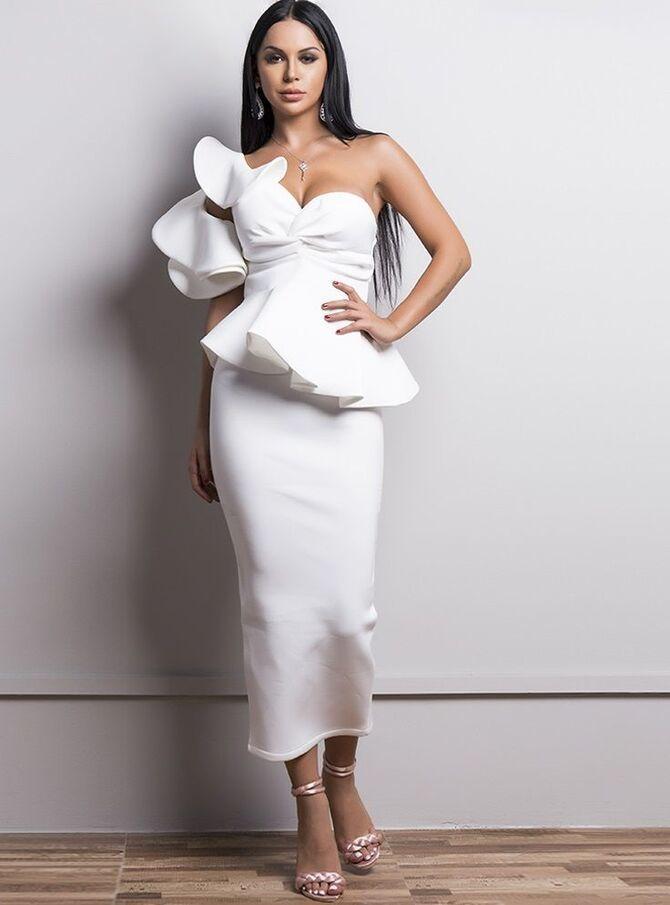 Короткие свадебные платья 2021-2022 24
