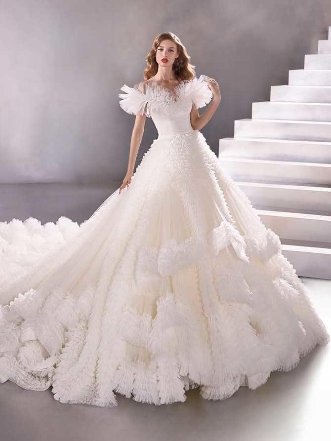 Модні весільні сукні з рукавами 2021-2022 27