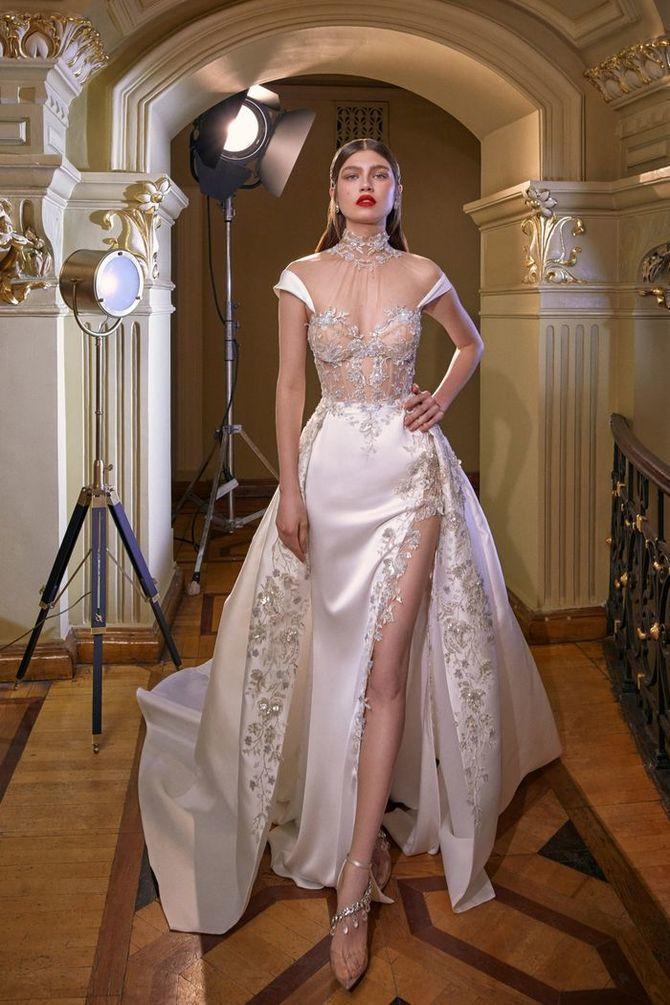 Модні весільні сукні з рукавами 2021-2022 26
