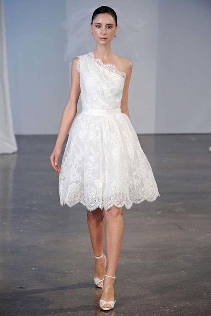 Короткие свадебные платья 2021-2022 26