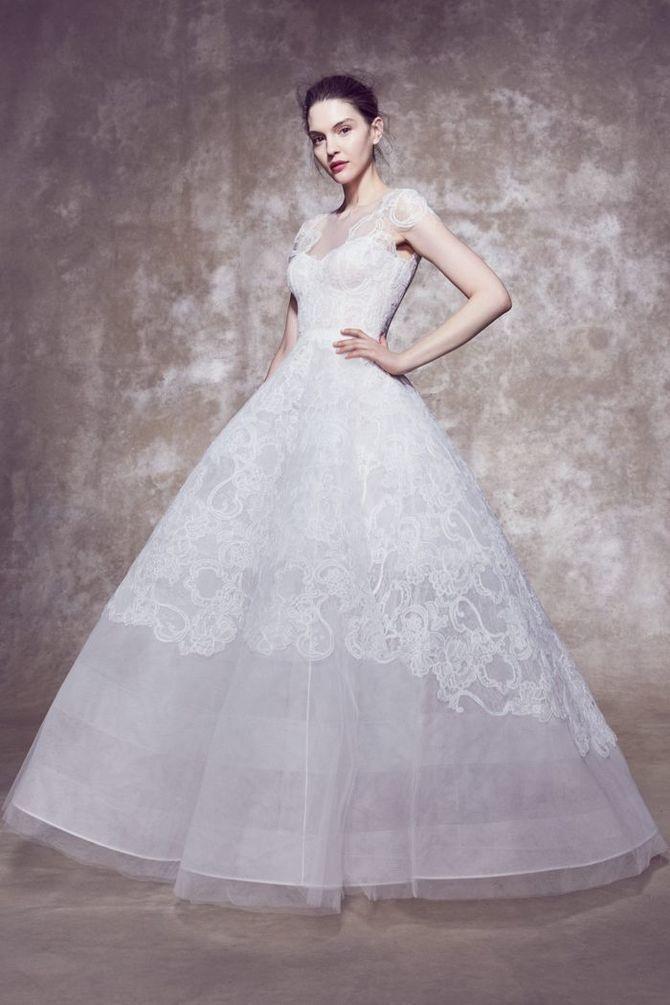 Модні весільні сукні з рукавами 2021-2022 28