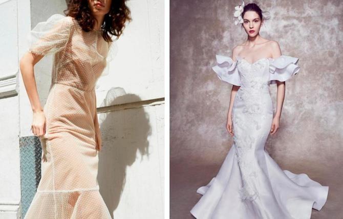 Модні весільні сукні з рукавами 2021-2022 29