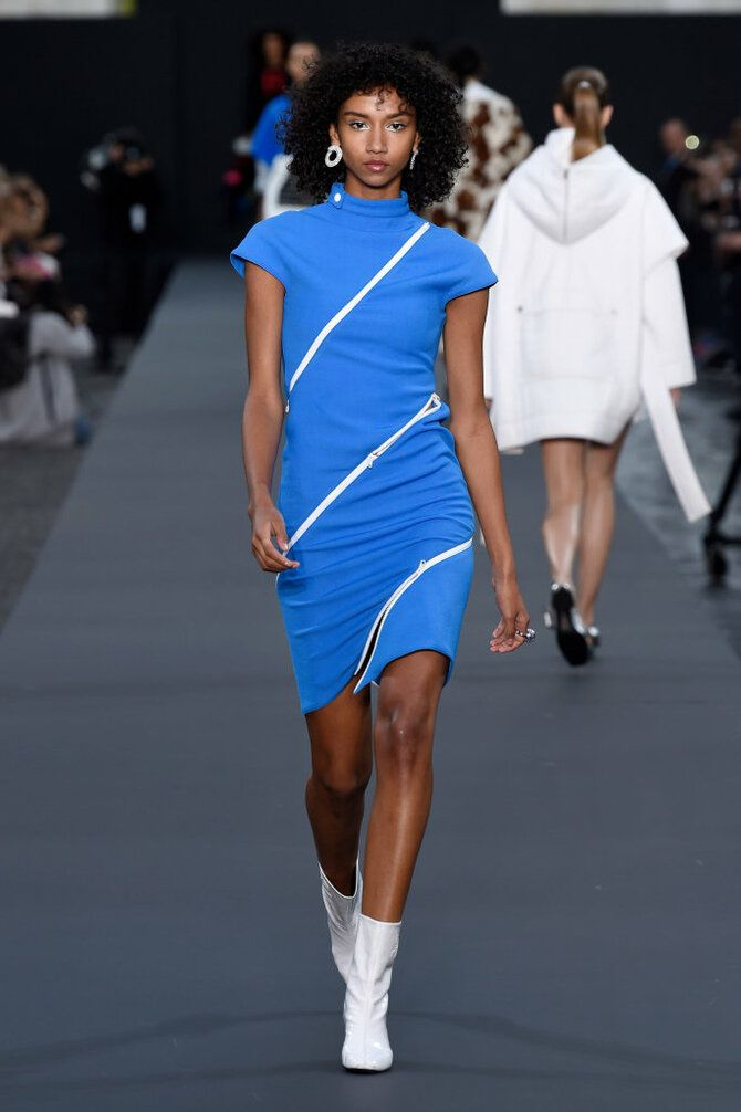 Модные спортивные платья 2020-2021 3