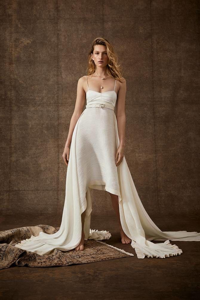 Короткие свадебные платья 2021-2022 3
