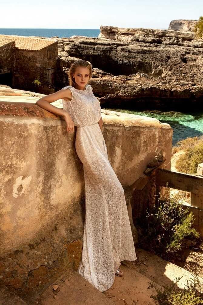 Короткие свадебные платья 2021-2022 32