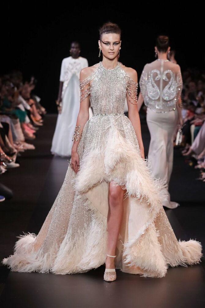 Короткие свадебные платья 2021-2022 31