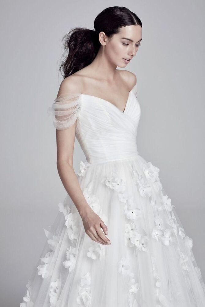 Модні весільні сукні з рукавами 2021-2022 33