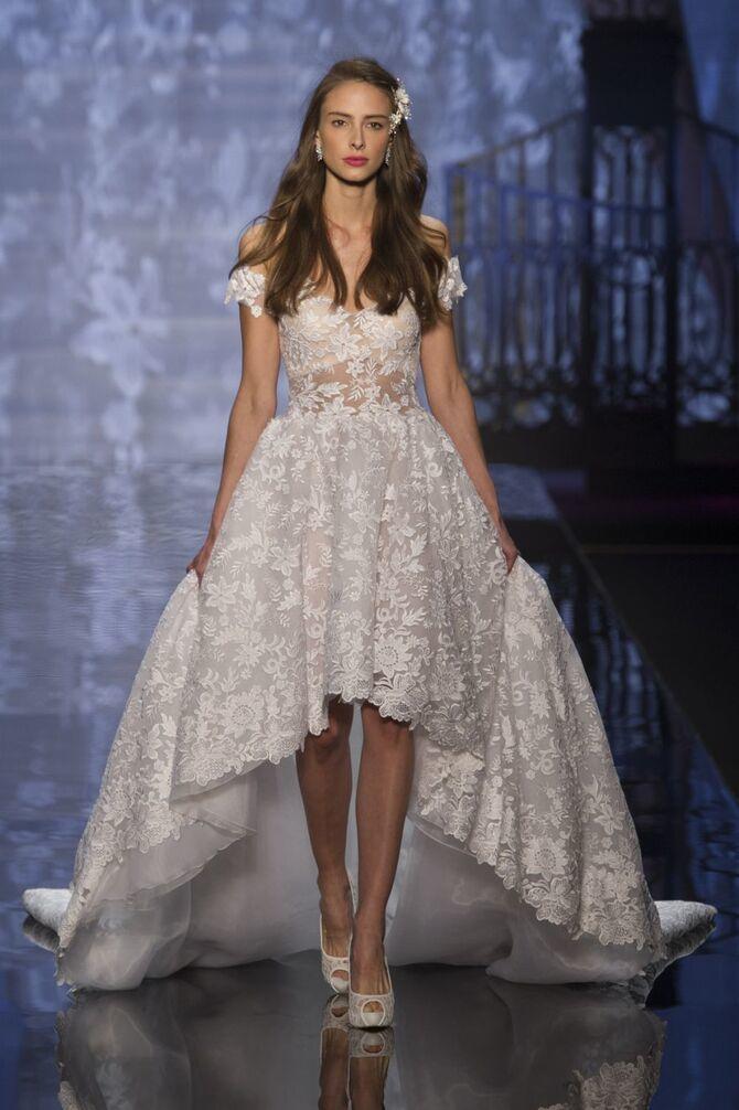 Короткие свадебные платья 2021-2022 33