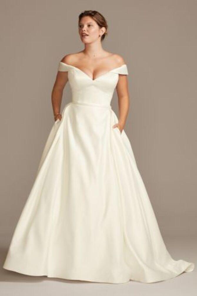 Модні весільні сукні з рукавами 2021-2022 35