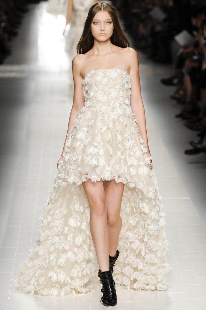 Короткие свадебные платья 2021-2022 34