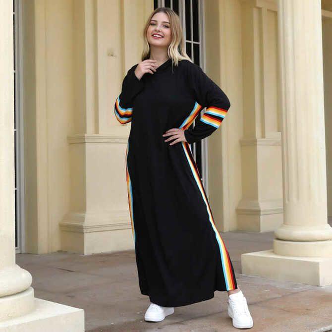 Модные спортивные платья 2021-2022 36