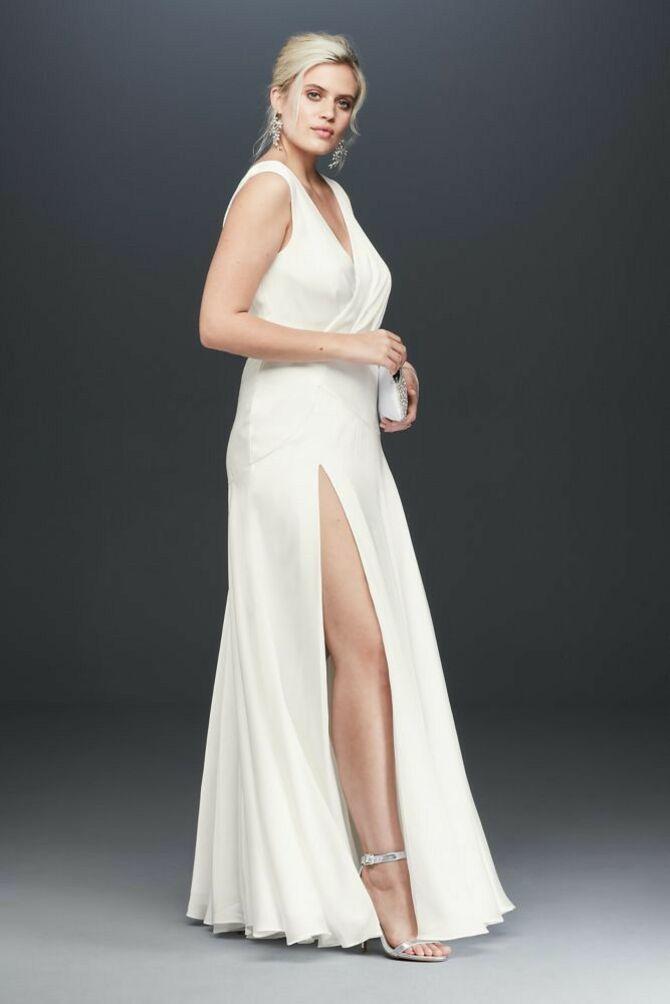 Модні весільні сукні з рукавами 2021-2022 36