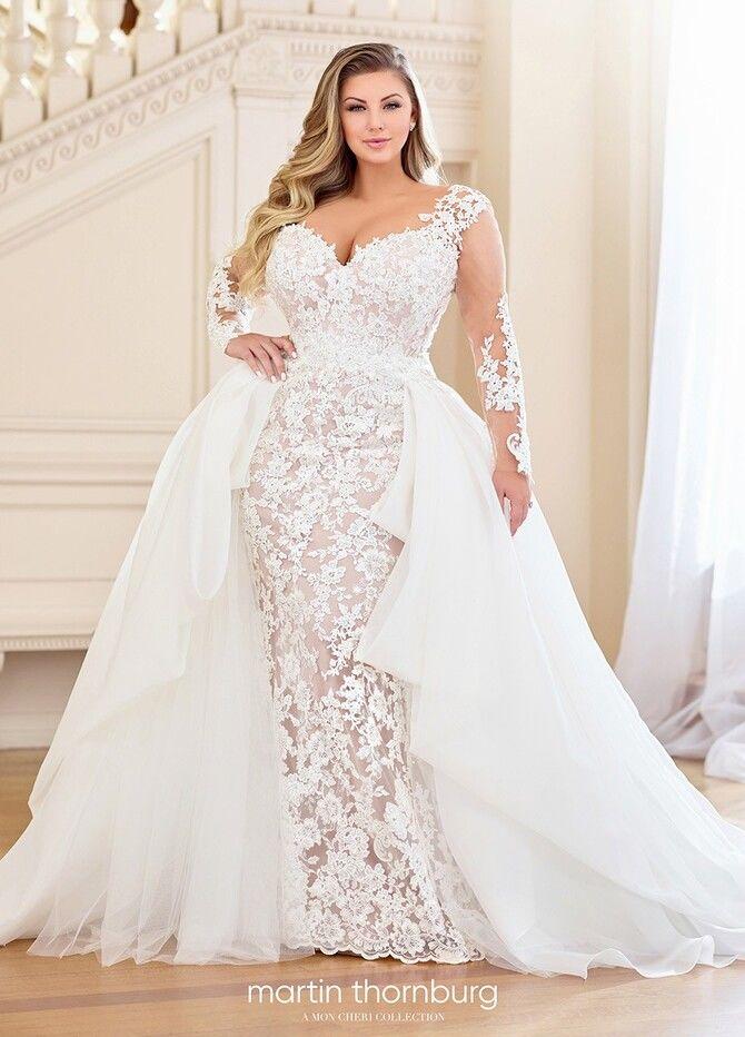 Модні весільні сукні з рукавами 2021-2022 37
