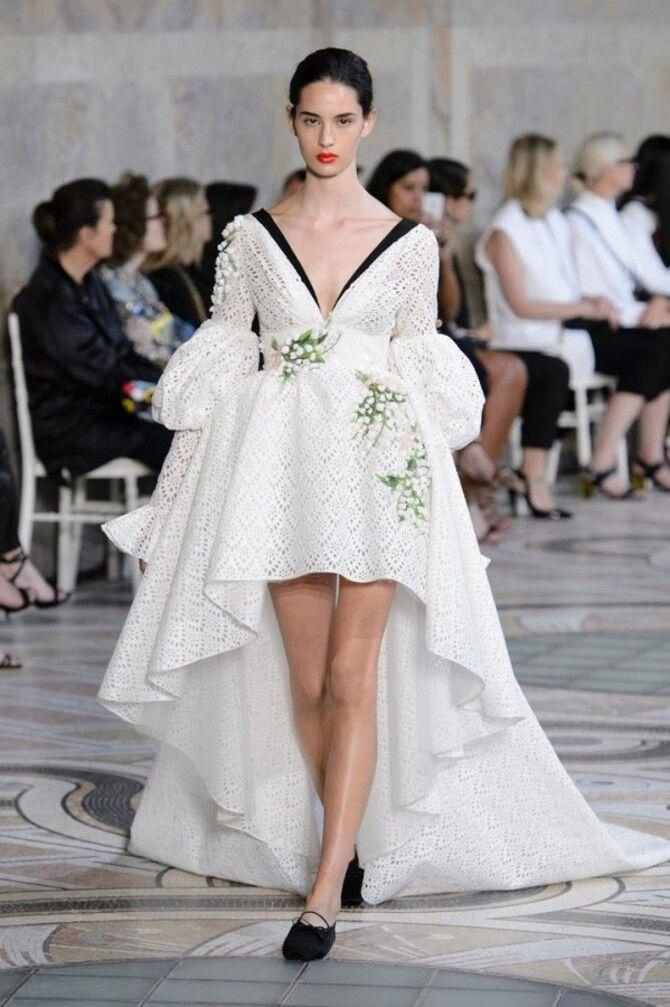 Короткие свадебные платья 2021-2022 37