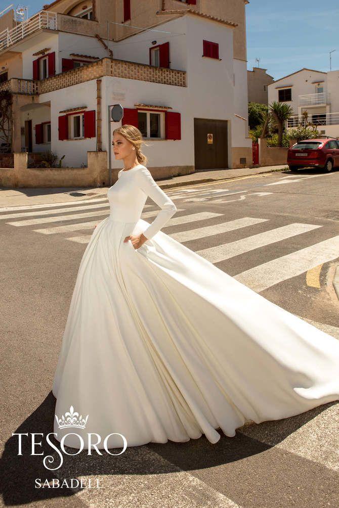 Модні весільні сукні з рукавами 2021-2022 4